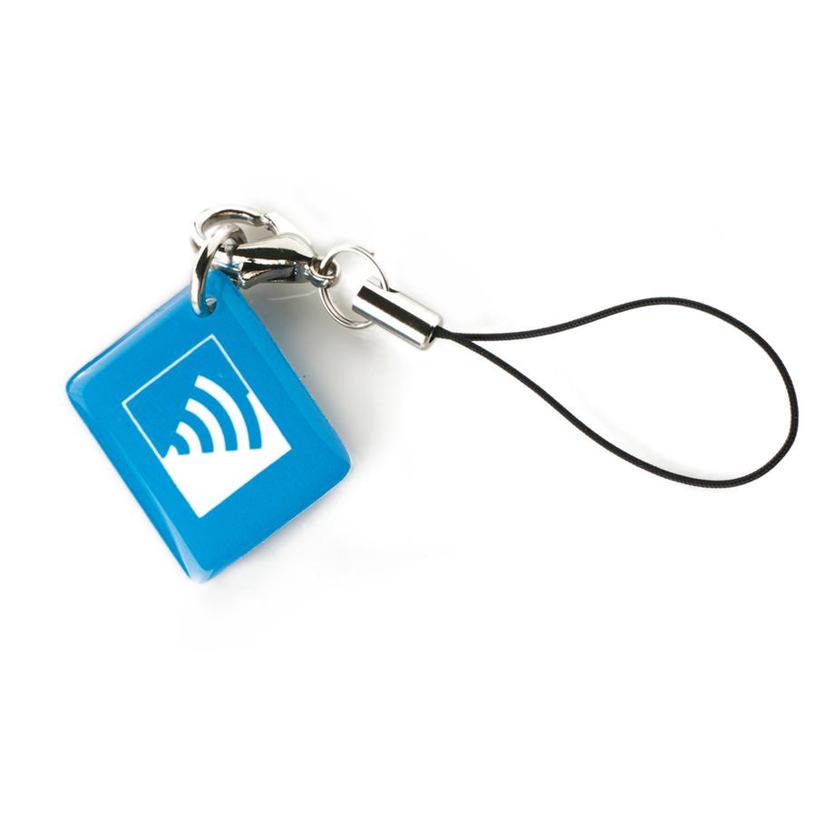 Жетон (голубой)|Миниатюрный бесконтактный жетон доступа