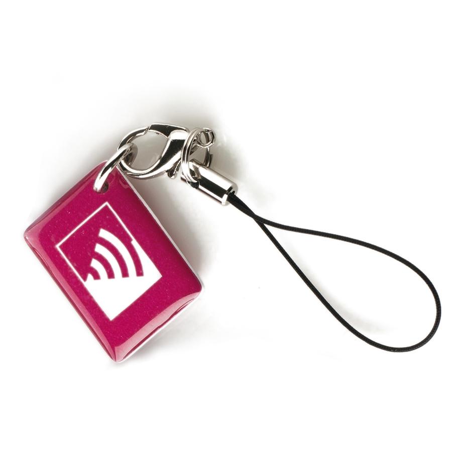 Жетон  (фуксия)|Миниатюрный бесконтактный жетон доступа
