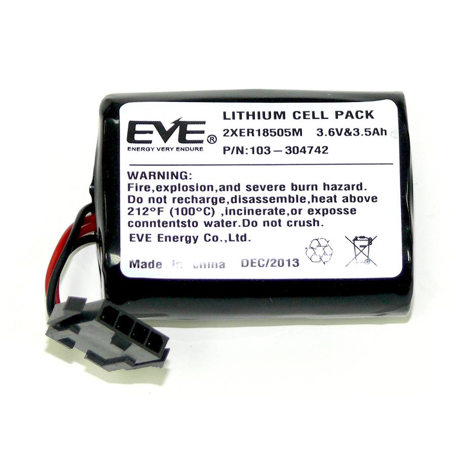 Батарея для MCS-740 и SR-740 PG2|Батарея 2XER18505M