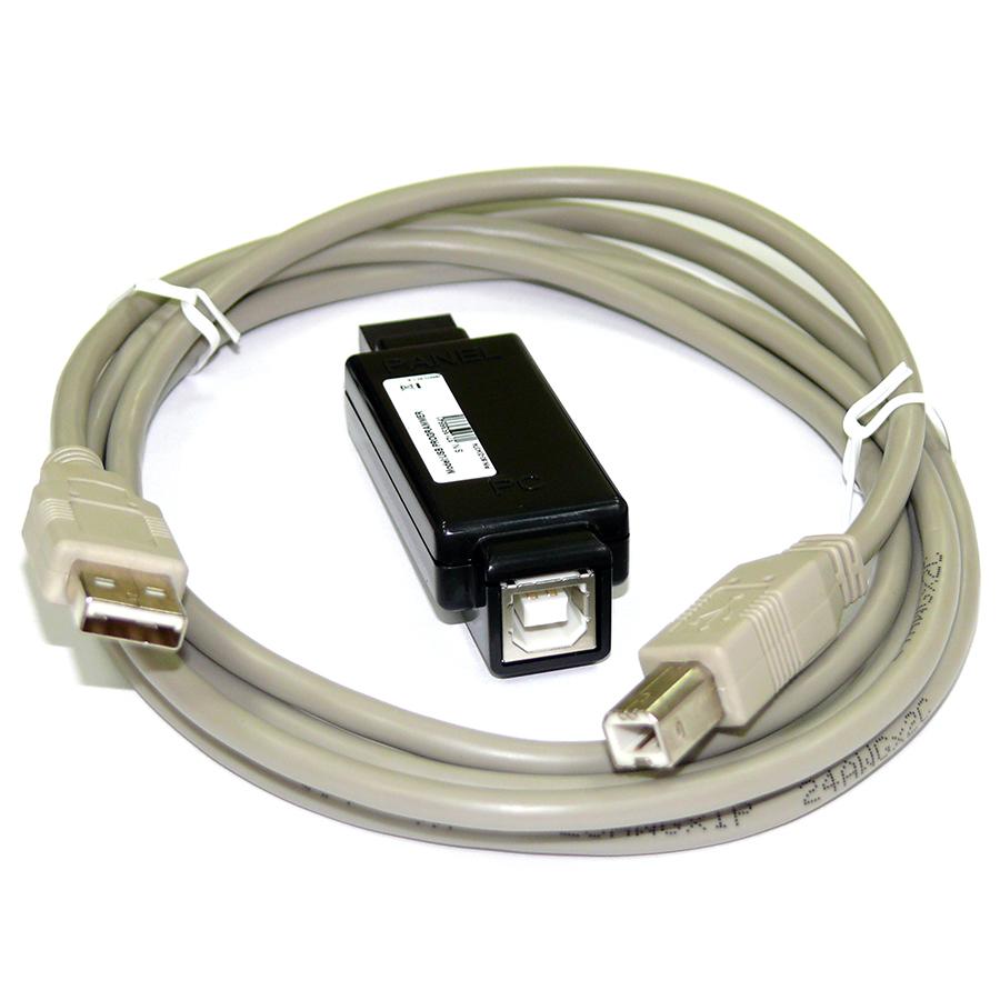 USB-интерфейс|Интерфейс для программирования с компьютера