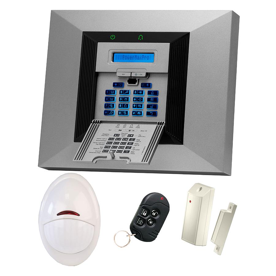 PowerMax Pro|Профессиональная беспроводная контрольная панель серии PowerCode и комплект извещателей.