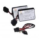 фото.3 KIT 2XBAT|Комплект аккумуляторов для SR-720B PG2
